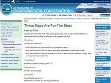 These Maps are for the Birds Lesson Plan