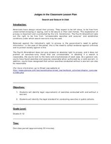 Search and Seizure in Utah Lesson Plan