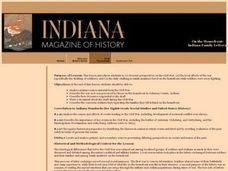 On the Homefront: Indiana Family Letters Lesson Plan