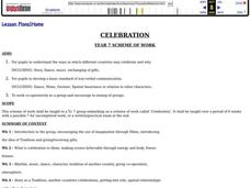 Celebration Lesson Plan