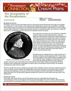 The Geography of Renaissance Lesson Plan