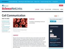 Cell Communication Lesson Plan