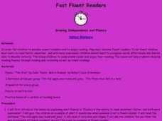 Fast Fluent Readers Lesson Plan
