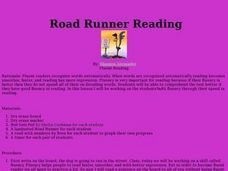Road Runner Reading Lesson Plan