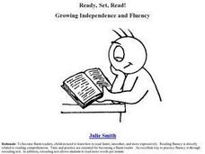 Ready, Set, Read! Growing Independence and Fluency Lesson Plan