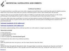 Artificial Sattellites and Orbits Lesson Plan