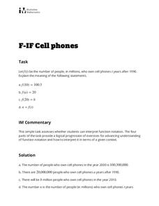 Cell Phones Activities & Project
