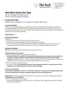 Ant-Man Saves the Day Lesson Plan