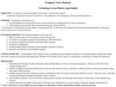 Compose Your Memory Lesson Plan