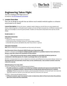 Engineering Takes Flight Lesson Plan