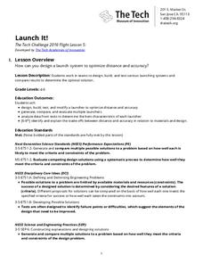 Launch It! Lesson Plan