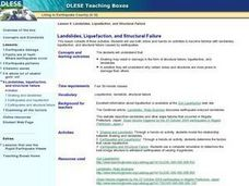 Landslides, Liquefaction, and Structural Failure Lesson Plan