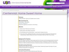 Centennial: Home Sweet Home Lesson Plan