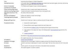 Identifying Search Engines to Complete Assignments Lesson Plan