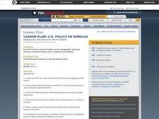 US Policy In Somalia Lesson Plan