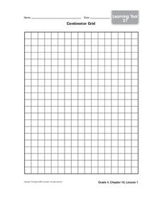 Centimeter Grid Printables & Template