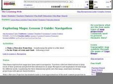 Exploring Maps: Lesson 2 Guide: Navigation Lesson Plan