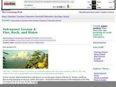 Volcanoes!: Forecasting the Path of Mudflows Lesson Plan