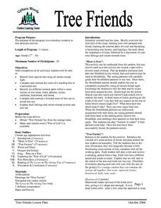 Tree Friends Lesson Plan