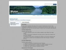 Water: An Endangered Resource Lesson Plan