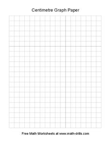 Centimetre Graph Paper Worksheet