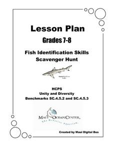 Fish Identification Skills Lesson Plan