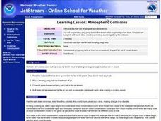 Atmospheric Collisions Lesson Plan