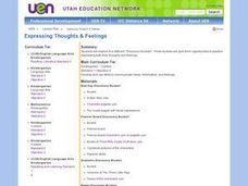 Expressing Thoughts & Feelings Lesson Plan