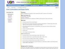 Super Collectibles and Super Sorts Lesson Plan