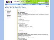 Multiples of Patterns Lesson Plan