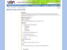 Weather Tools of the Trade Lesson Plan