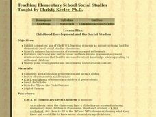 Childhood Development and the Social Studies Lesson Plan