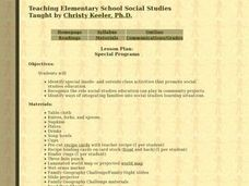Social Studies: International Food Fair Lesson Plan