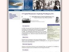 Capital Monuments: Exploring Washington, DC Frances Cleveland: Law, Politics and Government Lesson Plan