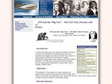 Betty Ford: Education, Arts, Letters and Ideas Lesson Plan