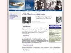 The Education of Abigail Adams Lesson Plan