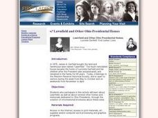 Lawnfield and Other Ohio Presidential Homes Lesson Plan