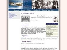 Banking Mysteries Lesson Plan