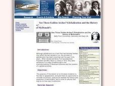 lesson plan about globalization This lesson plan focuses on various aspects of globalization to help students understand it via an activity, discussion topics and questions.