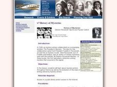 History of Mysteries Lesson Plan