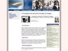 Social Studies: Tribes of Virginia Lesson Plan
