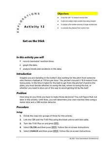 Get on this Stick Lesson Plan