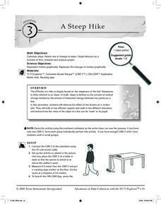 A Steep Hike Lesson Plan