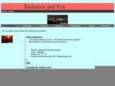 Radiation and You Lesson Plan
