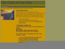 The Gifts of the Nile Lesson Plan