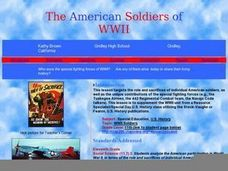The American Soldiers of WWII Lesson Plan