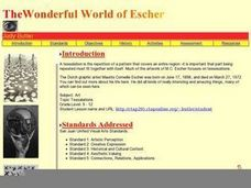 The Wonderful World of Escher Lesson Plan