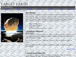 Target Earth Lesson Plan