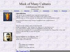 Masks of Many Cultures: Celebrations of Life Lesson Plan