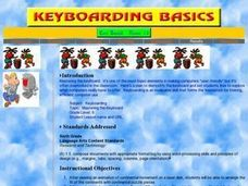 Mastering the Keyboard Lesson Plan